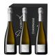 Sténopé 2008 - 3 btles - Champagne Devaux - Michel Chapoutier