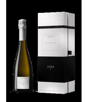 Sténopé 2008 - btle sous coffret - Champagne Devaux - Michel Chapoutier
