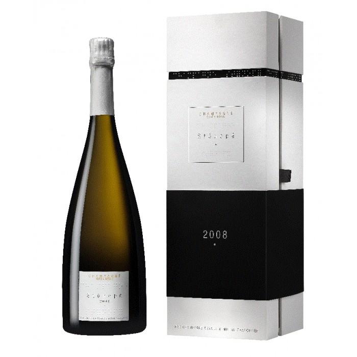 Sténopé 2008 - magnum sous coffret - Champagne Devaux - Michel Chapoutier