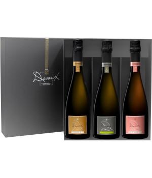 Coffret cadeau 3 bouteilles Collection D