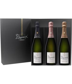 Coffret cadeau 3 bouteilles Les Classiques