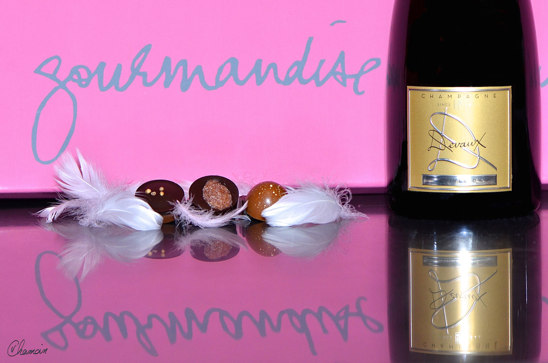 Champagne Devaux Atelier dégustation 4 Champagnes 4 Chocolats
