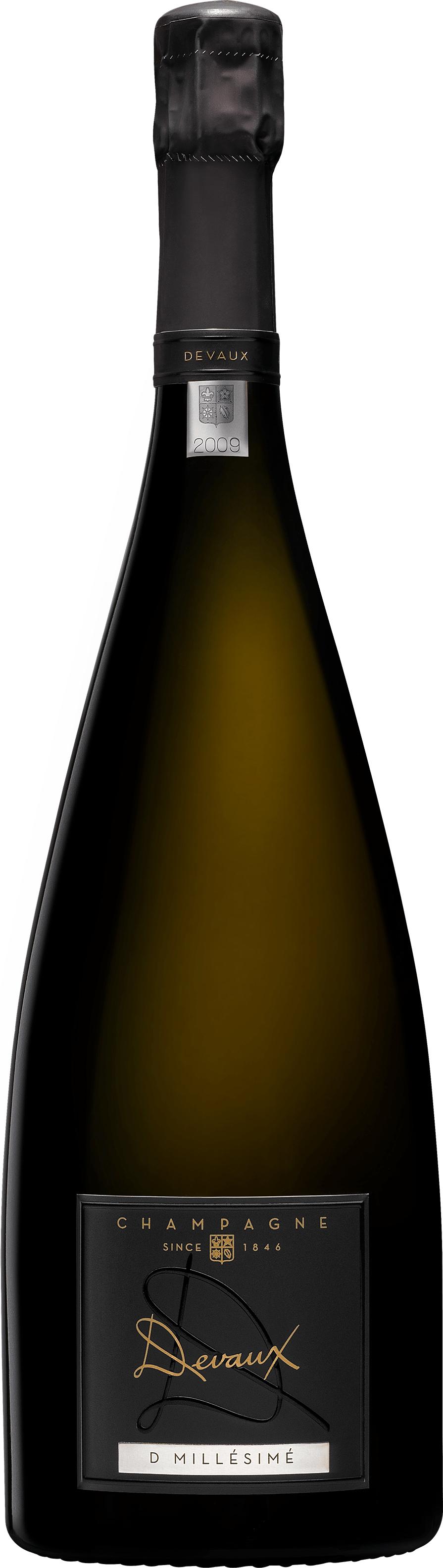 Champagne Devaux D millésime 2009